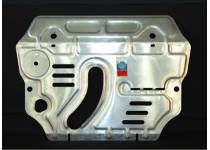 Защита картера двигателя алюминий 4 мм для Toyota Rav4 (2010-2012)