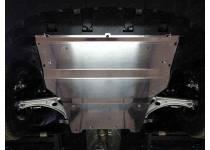 Комплект защит картера, бака левая и правая, алюминий 4 мм для Audi Q3 (2011-)