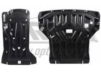 Защита картера двигателя и кпп 8 мм, композит для BMW X3 F25 (2010-)