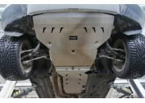 Защита картера двигателя и кпп алюминий, 4 мм для BMW X4 (2015-)