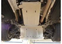 Комплект защит картера, КПП, алюминий 4 мм для BMW X5 F15 (2014-)