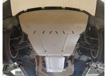 Комплект защит картера, КПП алюминий, 4мм для BMW X6 F16 (2015-)