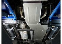 Комплект защит картера, радиатора, КПП, рк, бака алюминий, 4мм для Cadillac Escalade (2015-)