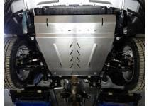 Комплект защит картера и магистралей кондиционера алюминий, 4 мм для Ford Explorer (2016-)