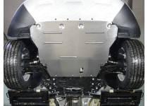 Комплект защит картера, заднего редуктора алюминий, 4 мм для Ford Kuga (2016-)