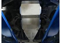 Комплект защит картера, КПП, раздаточной коробки, (алюминий) 4мм для Great Wall Hover H3 (2014-)