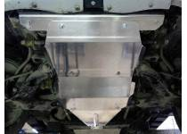 Комплект защит картера, раздаточной коробки, КПП, двиг. Turbo, алюминий 4мм для Great Wall Hover H3 (2014-)