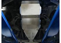 Комплект защит картера, КПП, раздаточной коробки, (алюминий) 4мм для Great Wall Hover H5 (2011-)