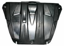 Защита картера двигателя и кпп 6 мм, композит для Honda Pilot (2008-2011)