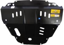 Защита двигателя, КПП 2 мм, сталь для Honda Pilot (2008-2011)