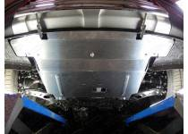 Комплект защит картера, бака, дифференциала алюминий, 4 мм для Hyundai Santa Fe Premium (2015-)