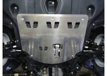 Комплект защит картера, заднего редуктора, бака алюминий, 4 мм для Hyundai Tucson (2015-)