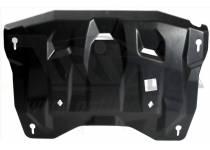 Защита картера двигателя и кпп 6 мм, композит для Infiniti JX35 (2013-2015)