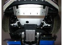 Комплект защит картера, КПП, дифференциала алюминий, 4мм для Infiniti QX50 (2016-)