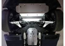 Комплект защит картера, КПП и раздатки алюминий, 4 мм для Infiniti QX70 (2015-)