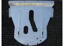 Комплект защит картера, дифференциала (алюминий) 4мм для Jeep Cherokee (2014-)