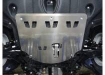Комплект защит картера, бака, заднего редуктора алюминий, 4мм для Kia Sportage (2016-)