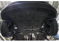 Защита картера двигателя и кпп 8 мм, композит для Kia Sportage (2016-)