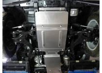 Комплект защит картера, КПП и раздатки, алюминий 4 мм Land Rover Discovery 4 (2010-)