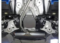 Защита дифференциала (алюминий) 4 мм для Land Rover Discovery Sport (2015-)