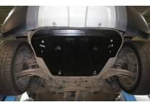Защита картера двигателя и кпп 8 мм, композит для Land Rover Range Rover Evoque (2011-)