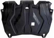 Защита картера двигателя и кпп 6 мм, композит для Lexus RX 270/350/450h (2013-)