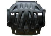 Защита картера двигателя и кпп 6 мм, композит для Mitsubishi Outlander (2012-2013)