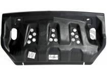 Защита радиатора 10 мм, композит для Mitsubishi Pajero 4 (2006-2011)
