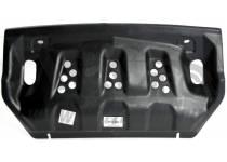 Защита радиатора 10 мм, композит для Mitsubishi Pajero 4 (2012-2013)
