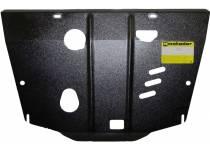 Защита двигателя, КПП 2 мм, сталь для Nissan Juke (2011-)