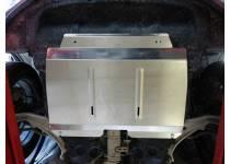 Защита картера (алюминий) 4 мм для Nissan Murano (2010-2015)