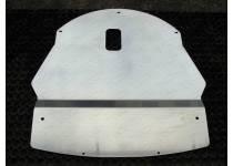 Комплект защит картера, дифференциала алюминий 4 мм для Nissan Qashqai (2014-)