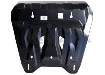 Защита картера двигателя и кпп 6 мм, композит для Nissan X-Trail (2011-2014)
