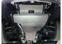 Защита картера (алюминий) 4мм для Subaru Outback (2015-)