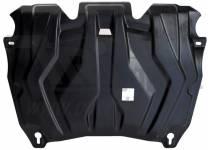 Защита картера двигателя и кпп 6 мм, композит для Toyota Highlander (2010-2013)