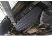 Защита топливного бака 8 мм, композит для Toyota Land Cruiser 200 (2007-2012)