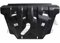 Защита картера двигателя и кпп 6 мм, композит для Toyota Rav4 (2013-2015)