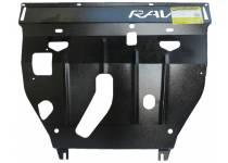 Защита двигателя, КПП 2 мм, сталь для Toyota Rav4 (2006-2010)