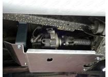 Комплект рулевых тяг, раздаточной коробки, бака, алюминий 4мм для UAZ Pickup