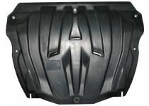 Защита картера двигателя и кпп 6 мм, композит для Volvo XC60 (2008-2013)