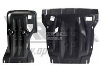Защита картера двигателя и кпп 10 мм, композит для Volkswagen Touareg (2014-)