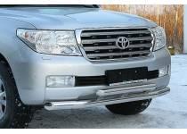 Защита переднего бампера Winbo для Toyota Land Cruiser 200 (2012-2015)