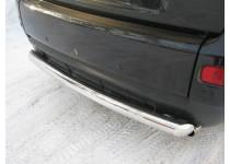 Защита заднего бампера d76 для Peugeot 4007 (2007-2012)