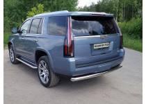 Защита задняя 76,1 мм для Cadillac Escalade (2015-)