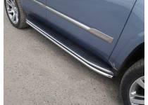 Защита порогов 42,4 мм для Cadillac Escalade (2015-)