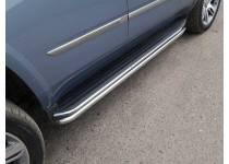 Защита порогов 50,8 мм для Cadillac Escalade (2015-)