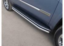 Защита порогов 60,3 мм для Cadillac Escalade (2015-)