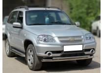 Дуга передняя двойная d53/43 для Chevrolet Niva (2009-)