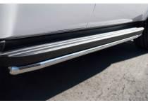Защита штатных порогов d42 для Chevrolet Tahoe (2012-2015)