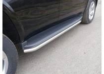 Защита порогов 60,3 мм для Chevrolet Tahoe (2016-)